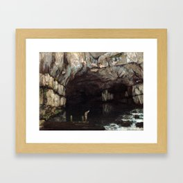 Gustave Courbet The Cave of the Loue Framed Art Print