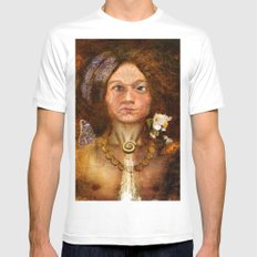 Pagan Avatar Mens Fitted Tee White SMALL