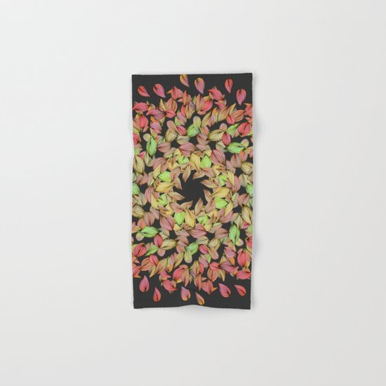 Autumn Mandala Hand & Bath Towel