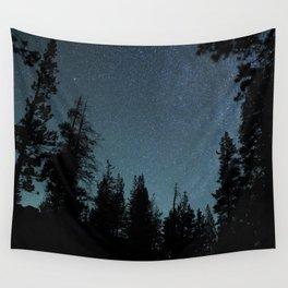 Stars and Trees Wall Tapestry