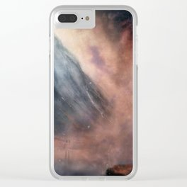 Loch Achtriochtan - (Damaged Universe edit) Clear iPhone Case