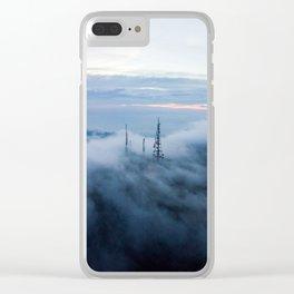 Cloudscape I Clear iPhone Case