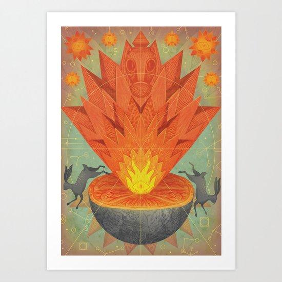 Catastrophe III Art Print