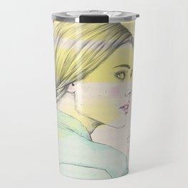 Smoke girl Travel Mug