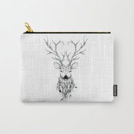 Poetic Deer Carry-All Pouch