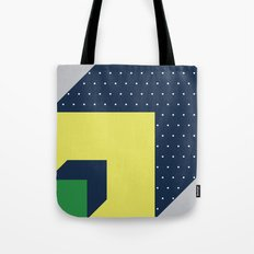 2d illusion Tote Bag