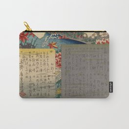 Table of Contents by Ando Hiroshige Carry-All Pouch