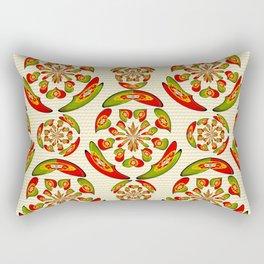 Portuguese flag pattern Rectangular Pillow