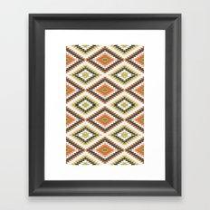 Kilim 7 Framed Art Print