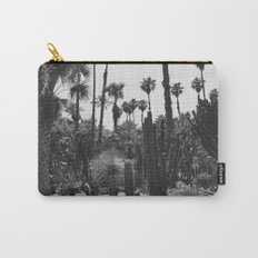 Tropical Cacti Gardens BW Carry-All Pouch