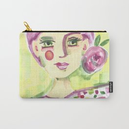 Lavender Lady Carry-All Pouch
