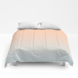 WEST COAST - Minimal Plain Soft Mood Color Blend Prints Comforters