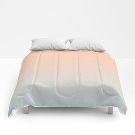 WEST COAST - Minimal Plain Soft Mood Color Blend Prints Comforters