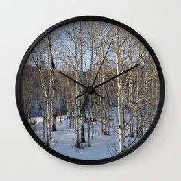 Colorado Tress Wall Clock