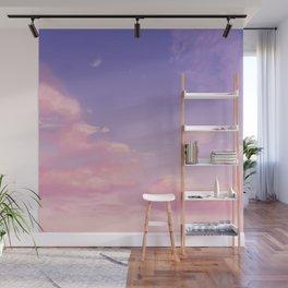 Sky Purple Aesthetic Lofi Wall Mural