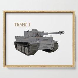 Tiger I German WW2 Tank Serving Tray