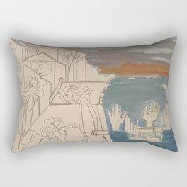 men at sea Rectangular Pillow