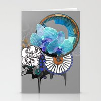 orchid Stationery Cards featuring Orchid by Sabah