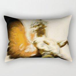 Fire Angel Rectangular Pillow