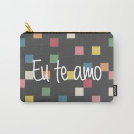 i love you in portuguess Carry-All Pouch