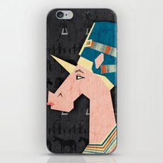 Queen Nefertiti Unicorn iPhone & iPod Skin