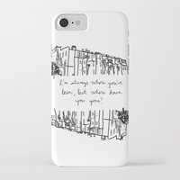 baltimore iPhone & iPod Cases featuring Baltimore by Lasafro