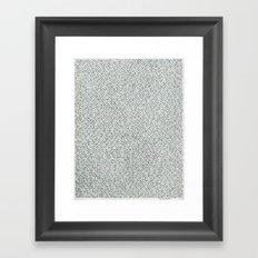 2,173 Pugs on Graph Paper Framed Art Print