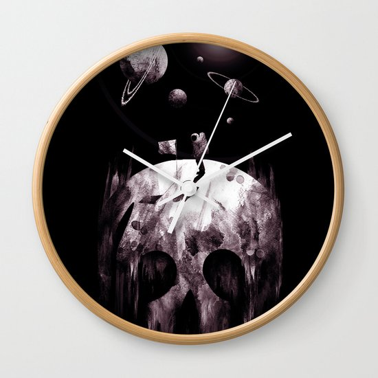 the darkside Wall Clock