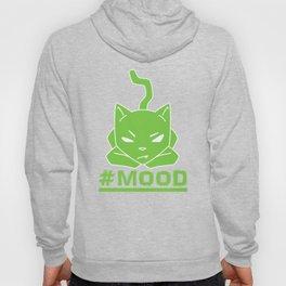 #MOOD Cat Green Hoody