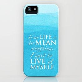 PJO - Live it myself iPhone Case