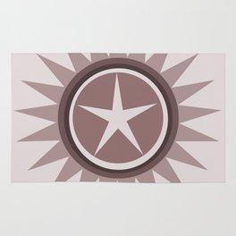 Star flower design Rug