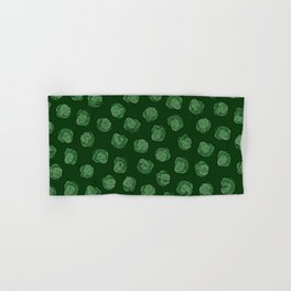 Brussels Sprouts Pattern Hand & Bath Towel
