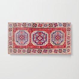 Khamseh Shahsavan Northwest Persian Azerbaijan Mafrash Metal Print