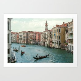 The Grand Canal of Venice Art Print
