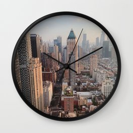 New York City Scape Wall Clock