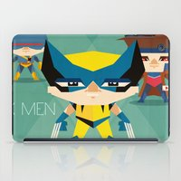 x men iPad Cases featuring X Men fan art by danvinci