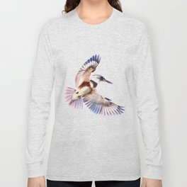 Colorful Kingfisher Long Sleeve T-shirt
