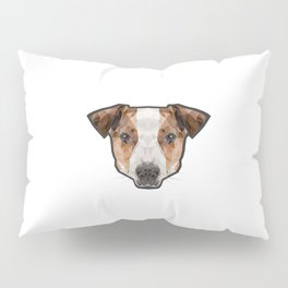 Jack Russell poly Pillow Sham
