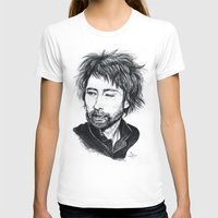 radiohead T-shirts featuring Thom Yorke [Radiohead] by ieIndigoEast