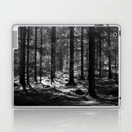 Moonlight in the dark forest Laptop & iPad Skin