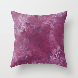 Colour Blotch Throw Pillow