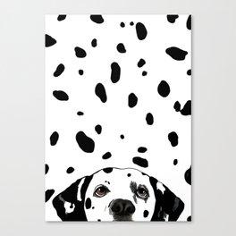 Dalmatian Spots Canvas Print