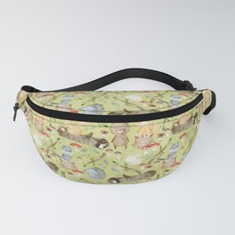Woodland Animals In Forest Fanny Pack