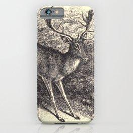 Antique Deer iPhone Case
