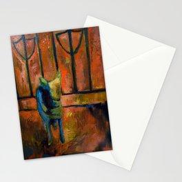 """Kita dog"" by Lindsay Wiggins Stationery Cards"