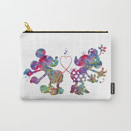 Mickey Loves Minnie Carry-All Pouch