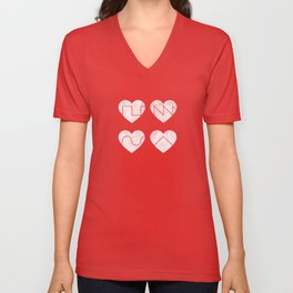 Love Synth Unisex V-Neck