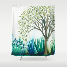 Kennedy Meadows PCT Shower Curtain