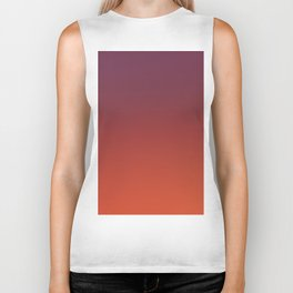 ODYSSEY - Minimal Plain Soft Mood Color Blend Prints Biker Tank