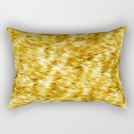 Autumn On A Windy Day Rectangular Pillow
